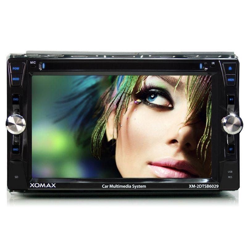 "XOMAX XM-2DTSB6209 15,7cm/6,2"" DVD-Moniceiver Autoradio BLUETOOTH (C-Ware) – Bild 2"