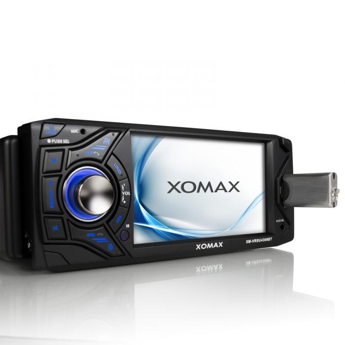 XOMAX XM-VRSU4309BT USB Autoradio mit Videofunktion (B-Ware) – Bild 3