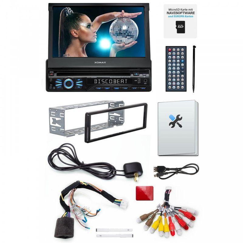XOMAX XM-DTSBN929 Navi Autoradio mit DVD, USB, GPS und BLUETOOTH – Bild 9