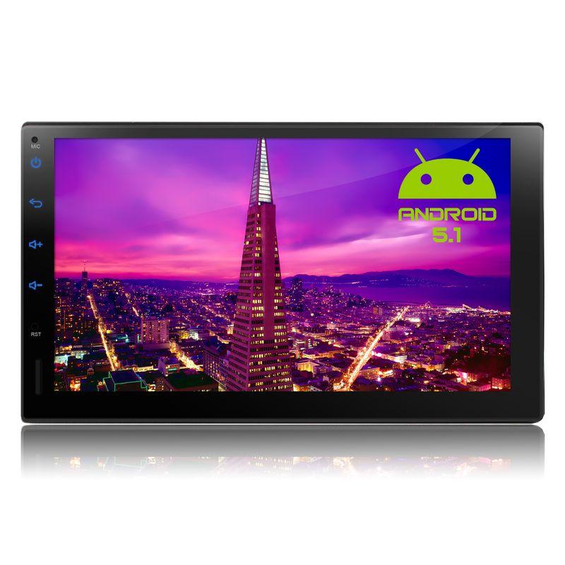 XOMAX XM-2VRSUA738: 2DIN Android 5.1 Navi Autoradio mit 7 Zoll Touchscreen Monitor, Bluetooth, SD und USB (B-Ware) – Bild 3