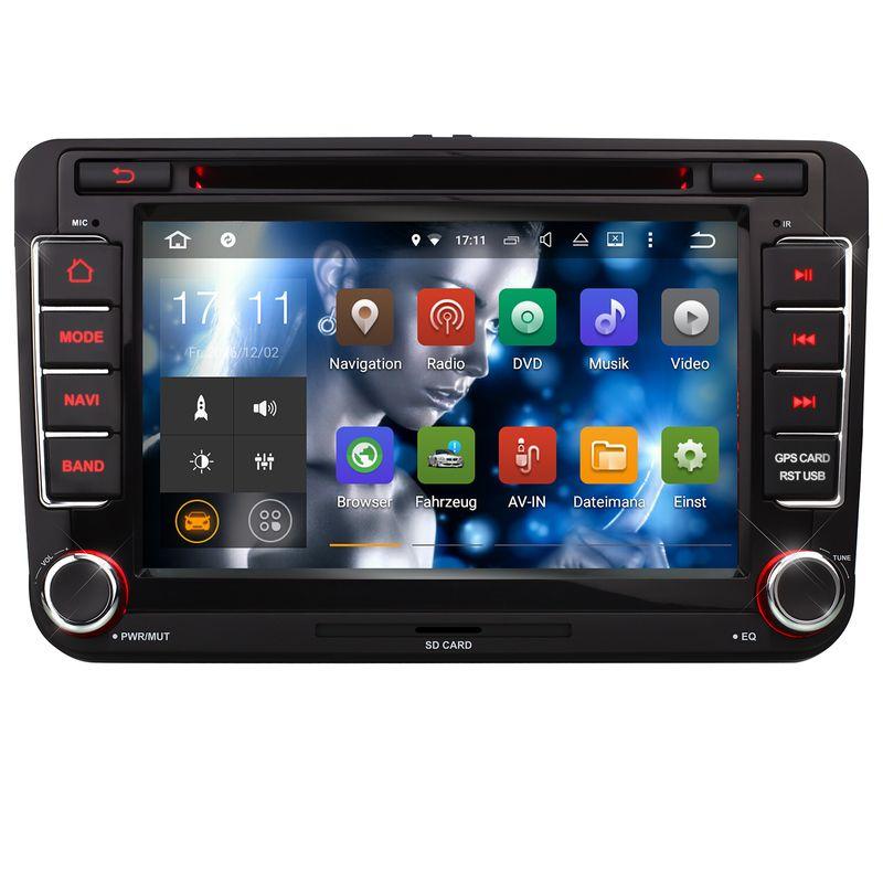 XOMAX XM-07GA: 2DIN Navi Autoradio mit Android 5.1, 7 Zoll Touchscreen Monitor, Bluetooth, SD und USB  – Bild 3