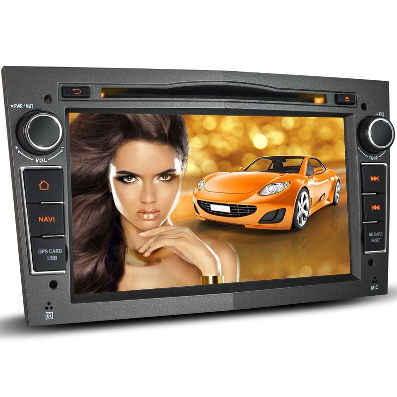 XOMAX XM-02LA: 2DIN Navi Autoradio mit Android 5.1, 7 Zoll Touchscreen Monitor, Bluetooth, SD und USB, passend für OPEL (B-Ware) – Bild 1