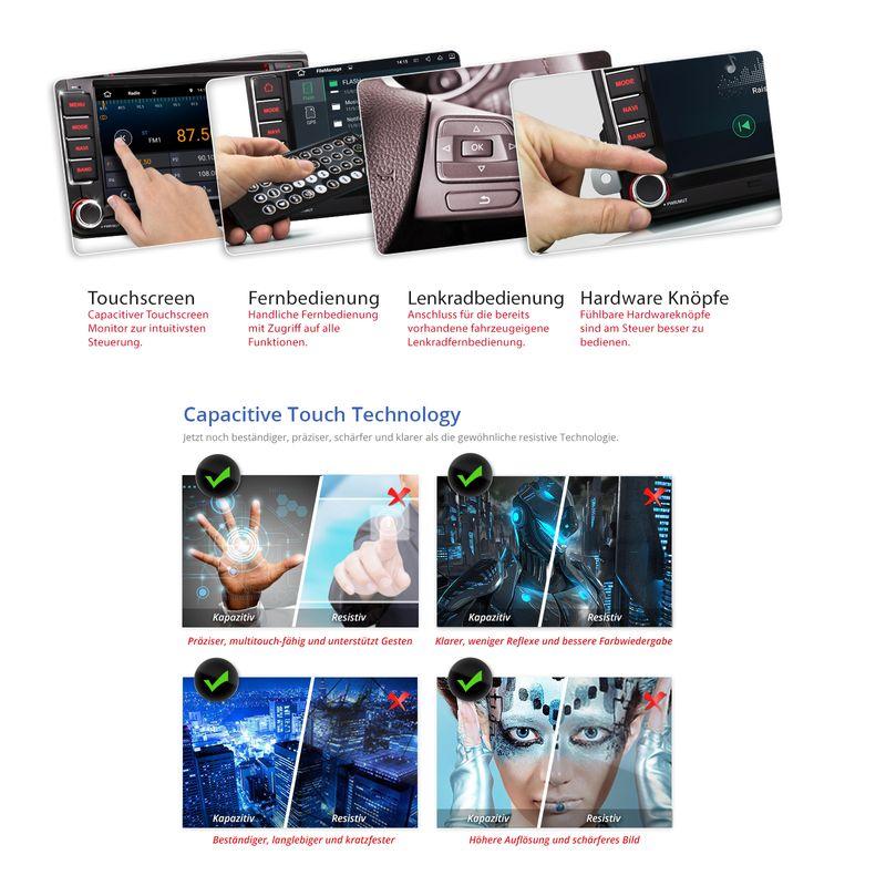 XOMAX XM-07GA: 2DIN Navi Autoradio mit Android 5.1, 7 Zoll Touchscreen Monitor, Bluetooth, SD und USB (B-Ware) – Bild 8