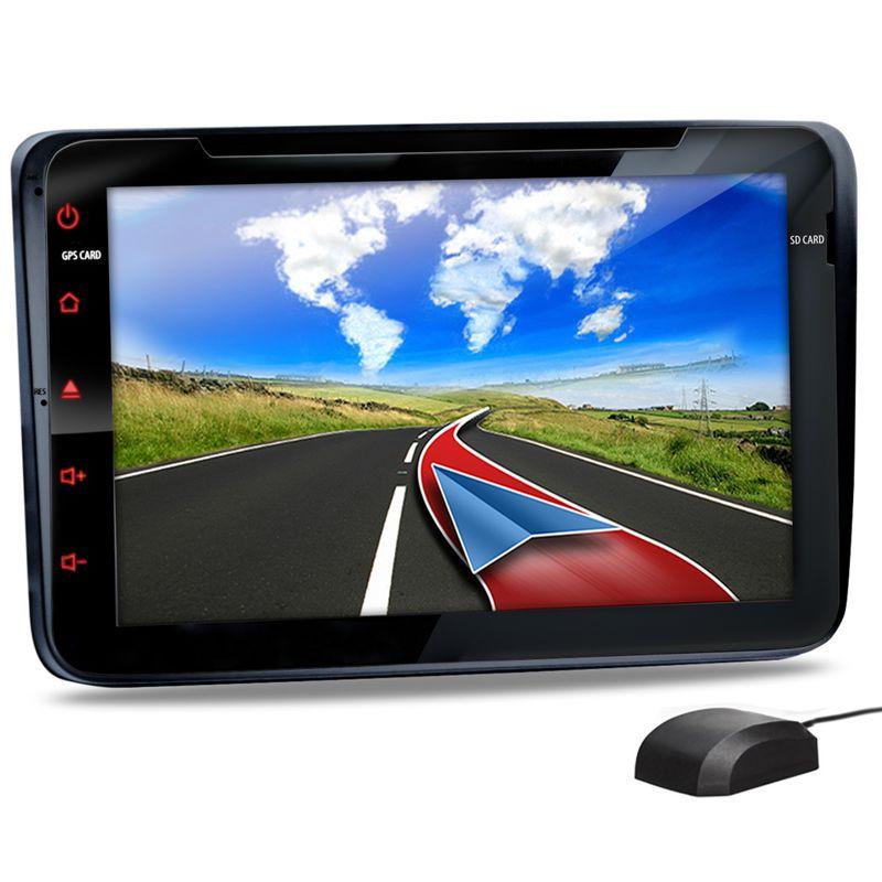 XOMAX XM-08G: 2DIN Autoradio mit Navigation und Bluetooth (passend für Volkswagen, Seat, Skoda) (B-Ware) – Bild 1