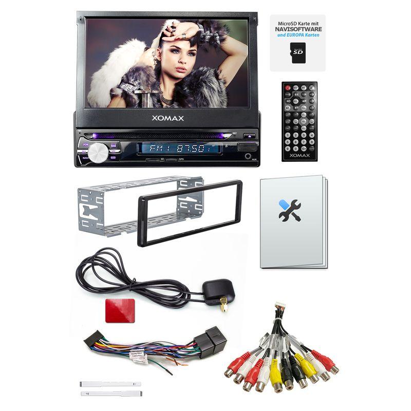 XOMAX XM-DTSBN933 Navi Autoradio mit DVD, USB, GPS und BLUETOOTH – Bild 4