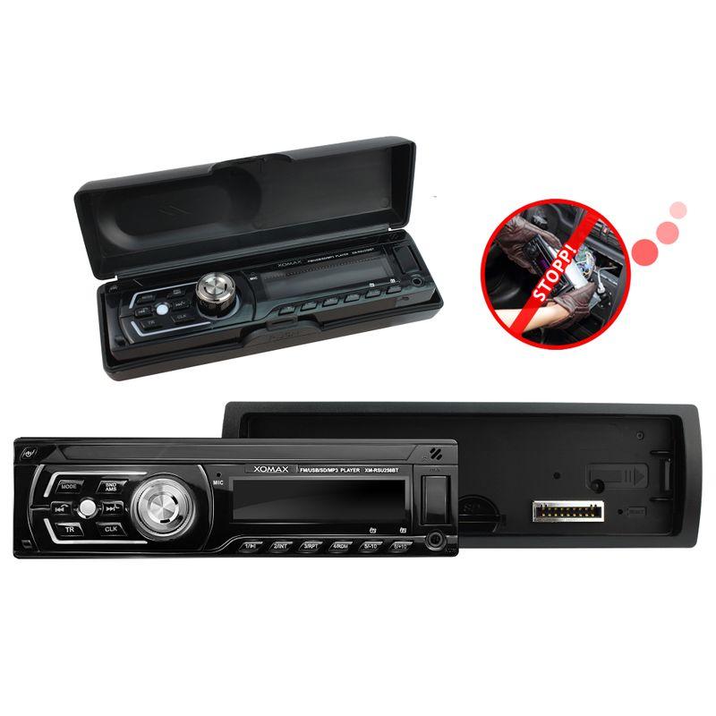 XOMAX XM-RSU258BT USB SD Autoradio ohne CD-Laufwerk und Bluetooth-Freisprecheinrichtung (B-Ware) – Bild 5