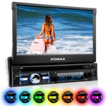 "XOMAX XM-DTSB930 18cm/7"" DVD-Moniceiver USB SD BLUETOOTH 001"