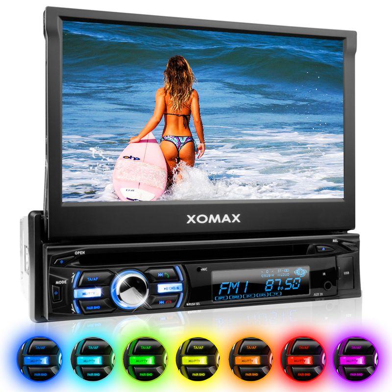 "XOMAX XM-DTSB930 18cm/7"" DVD-Moniceiver USB SD BLUETOOTH – Bild 1"