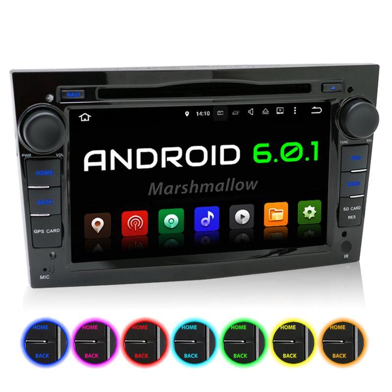 XOMAX XM-2DA703: 2DIN Navi Autoradio mit Android 6.0.1, 7 Zoll Touchscreen Monitor, Bluetooth, SD und USB  (B-Ware) – Bild 1