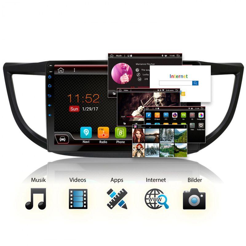 XOMAX XM-10HC: Navi Autoradio mit Android 7.1.1, passend für HONDA CR-V (inkl. Rahmen) (B-Ware) – Bild 5