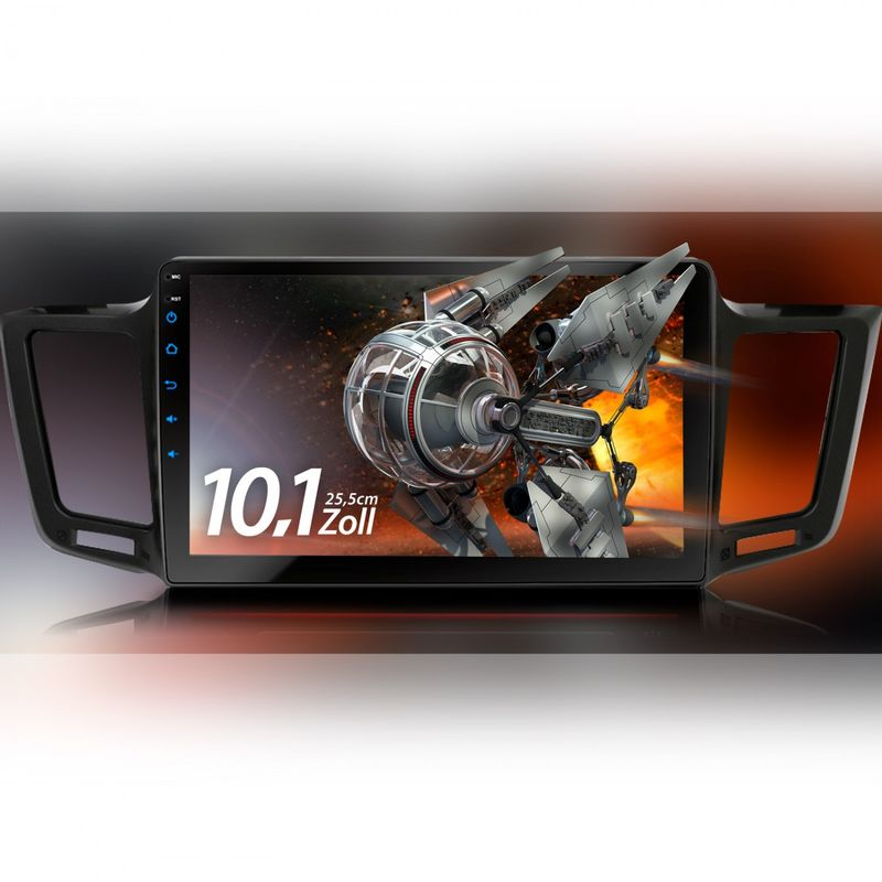XOMAX XM-10TYR: Navi Autoradio mit Android 7.1.1 passend für TOYOTA RAV4 (inkl. Rahmen) – Bild 9
