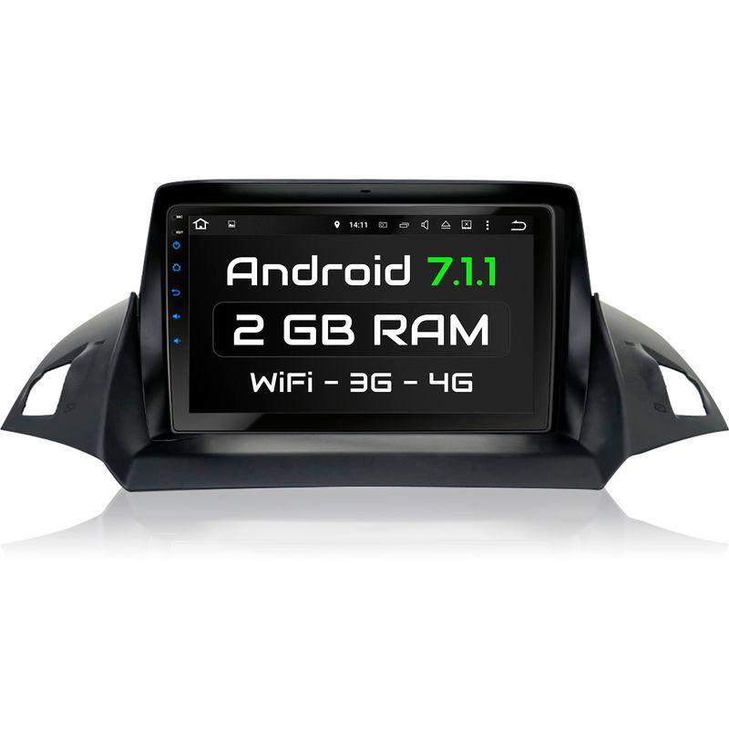 XOMAX XM-9FK: passend für FORD KUGA mit Android 7.1 Navi Autoradio inkl. passenden Rahmen – Bild 1
