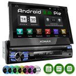 XOMAX XM-VA707: 1DIN Autoradio mit Android 9 Navi 7 Zoll Touchscreen Monitor, Bluetooth, SD und USB 001