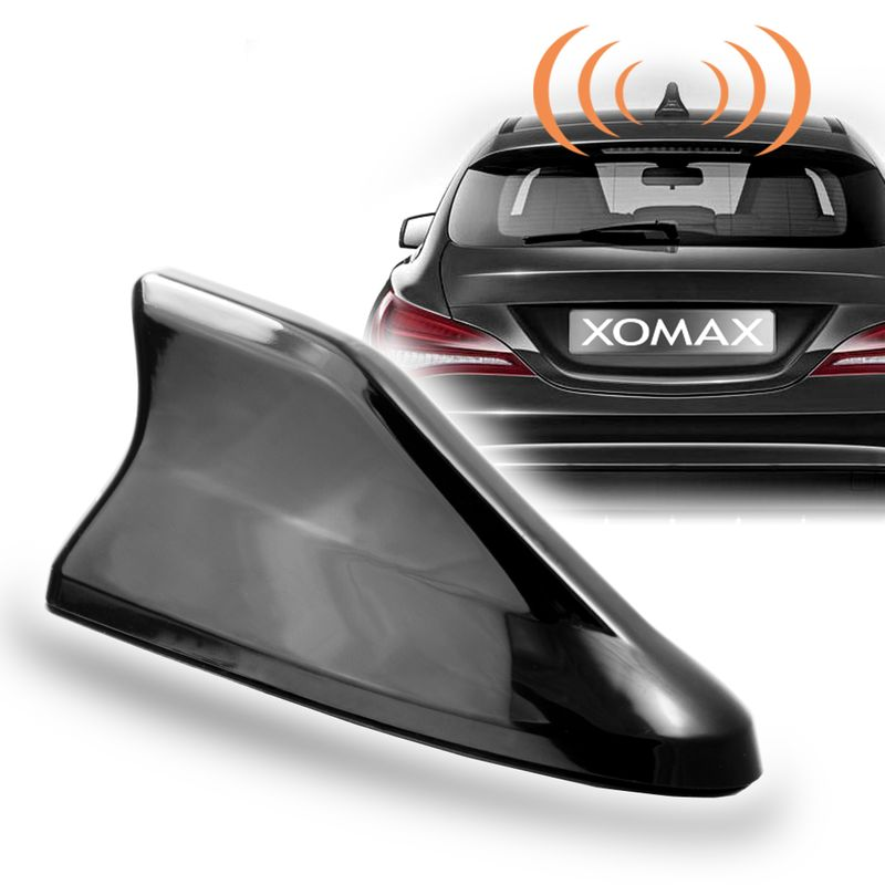 XOMAX XM-DAT04 Haifisch Dach Antenne AM/FM / DAB+ / GPS Empfänger + Adapter