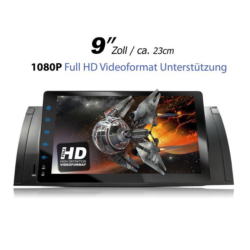 XOMAX XM-VA902: 1DIN Android 6.0.1 Navi Autoradio mit 9 Zoll Touchscreen Monitor, Bluetooth, SD und USB  – Bild 2