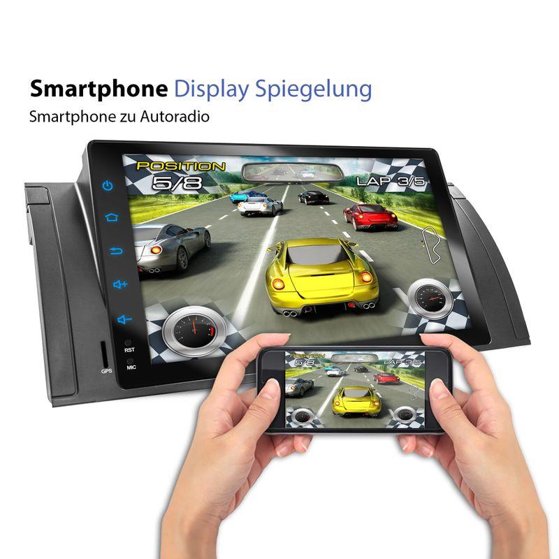 XOMAX XM-VA902: 1DIN Android 6.0.1 Navi Autoradio mit 9 Zoll Touchscreen Monitor, Bluetooth, SD und USB  – Bild 6