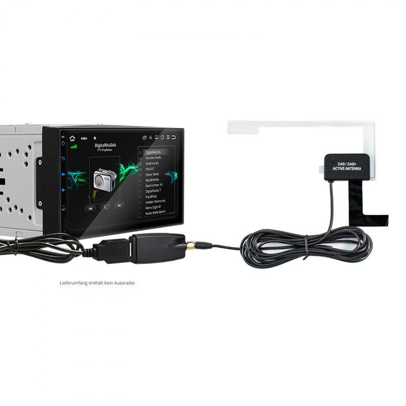 XOMAX XM-DAB03: Digital Radio Receiver / DAB+ Tuner (B-Ware) – Bild 4