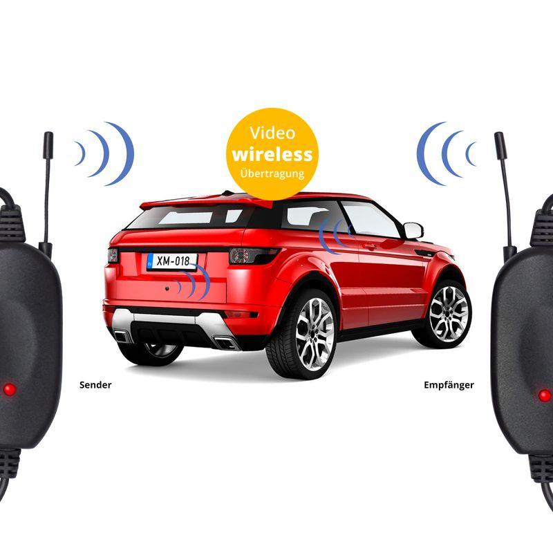 "XM-RWB018: Einparkhilfe-Set aus Rückfahrkamera, 4,3"" Monitor und wireless Transmitter  – Bild 13"
