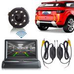 "XM-RWB018: Einparkhilfe-Set aus Rückfahrkamera, 4,3"" Monitor und wireless Transmitter  001"