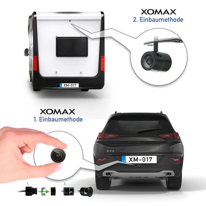"XM-RWB017: Einparkhilfe-Set aus Rückfahrkamera, 4,3"" Monitor und wireless Transmitter  – Bild 8"
