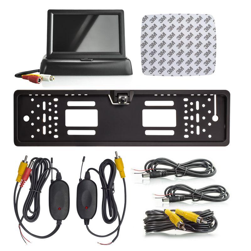 "XM-RWB012: Einparkhilfe-Set aus Rückfahrkamera, 4,3"" Monitor und wireless Transmitter  – Bild 7"