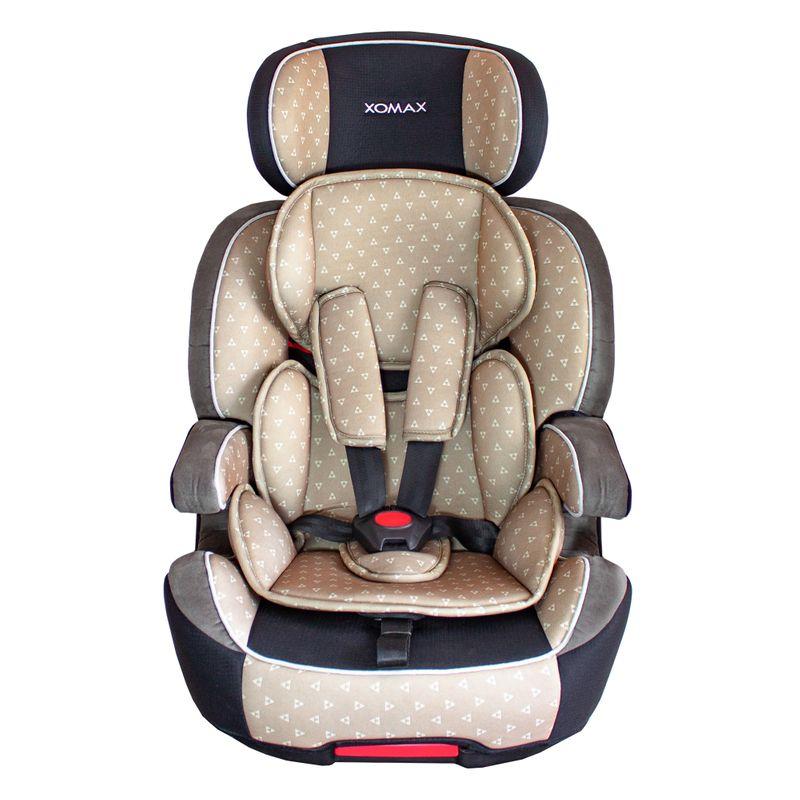 XL-518-Braun Auto Kindersitz / Sitzerhöhung (Braun/Schwarz/Grau) für Kinder von 9 - 36 kg (Klasse I, II, III) mit ISOFIX – Bild 1