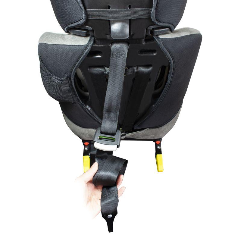 XL-518-Braun Auto Kindersitz / Sitzerhöhung (Braun/Schwarz/Grau) für Kinder von 9 - 36 kg (Klasse I, II, III) mit ISOFIX – Bild 8