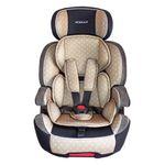 XL-518-Beige Auto Kindersitz / Sitzerhöhung (Braun/Schwarz/Grau) für Kinder von 9 - 36 kg (Klasse I, II, III) mit ISOFIX 001