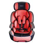 XL-518-Rot Auto Kindersitz / Sitzerhöhung (Rot/Schwarz/Grau) für Kinder von 9 - 36 kg (Klasse I, II, III) mit ISOFIX 001