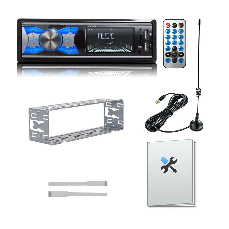 XOMAX XM-RD264: 1DIN, Autoradio mit DAB+, Bluettoth, FlashXO, USB, AUX IN, ohne Laufwerk – Bild 8