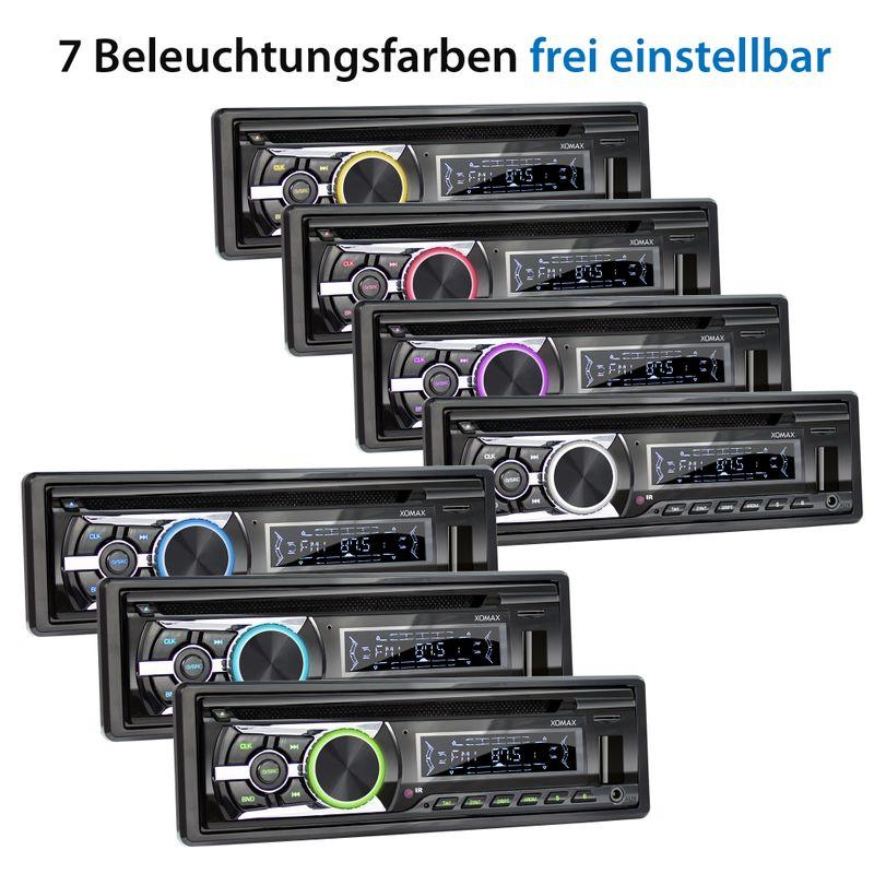 XOMAX XM-CDB623 CD Autoradio mit USB, SD-Slot und AUX-IN – Bild 8