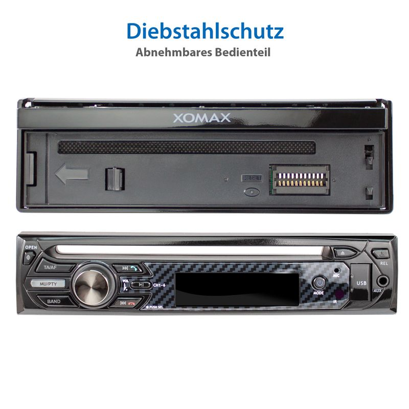 "XOMAX XM-D750 18cm/7"" DVD-Moniceiver USB SD BLUETOOTH – Bild 12"