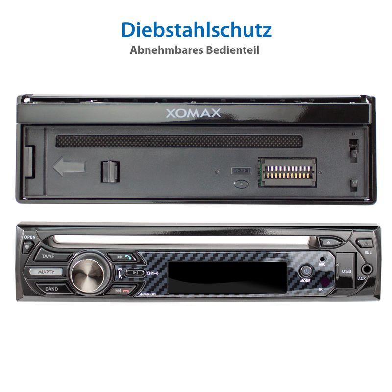 "XOMAX XM-D750 18cm/7"" DVD-Moniceiver USB SD BLUETOOTH – Bild 12"