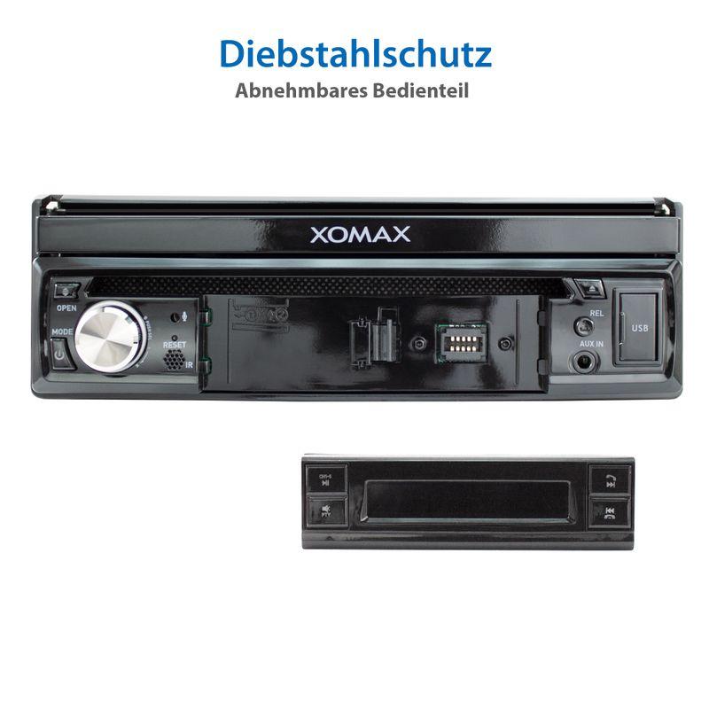 "XOMAX XM-D749 18cm/7"" DVD-Moniceiver USB SD BLUETOOTH – Bild 12"