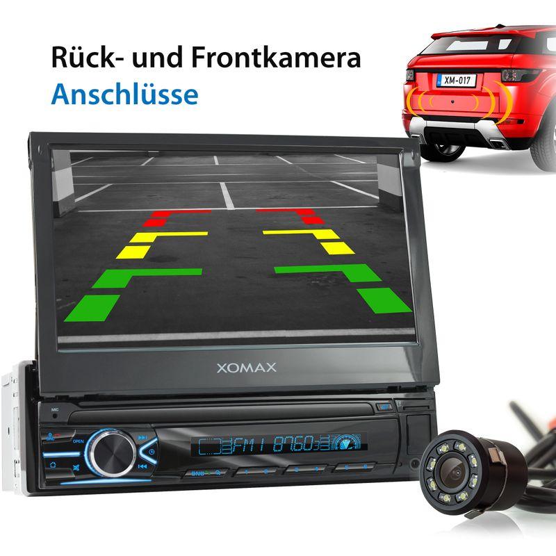 XOMAX XM-V746 1DIN Autoradio mit SD, USB und BLUETOOTH – Bild 8