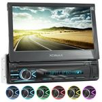 XOMAX XM-V746 1DIN Autoradio mit SD, USB und BLUETOOTH 001