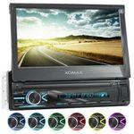 XOMAX XM-V746 1DIN Autoradio mit SD, USB und BLUETOOTH (B-Ware) 001