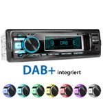 XOMAX XM-RD269: 1DIN, Autoradio mit DAB+, Bluetooth, USB, AUX IN, ohne Laufwerk 001
