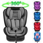 XOMAX XM-KI360 Auto Kindersitz mit 360° Drehfunktion und ISOFIX für Kinder von 0 - 36 kg (Klasse 0, I, II, III) 001