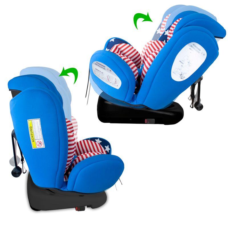 XOMAX XM-KI360 Auto Kindersitz mit 360° Drehfunktion und ISOFIX für Kinder von 0 - 36 kg (Klasse 0, I, II, III) – Bild 13