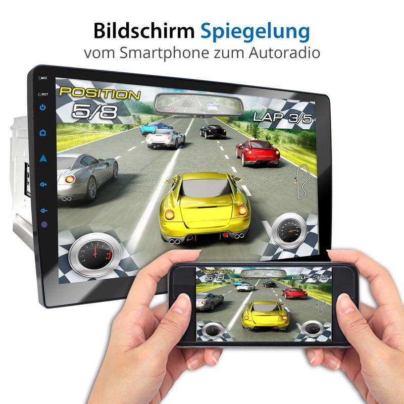 XOMAX XM-2DN1005 2DIN Navi Autoradio mit GPS, DVD, CD, SD, USB und BLUETOOTH – Bild 6