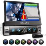 XOMAX XM-VN764 1DIN Navi Autoradio mit GPS, SD, USB und BLUETOOTH (B-Ware) 001