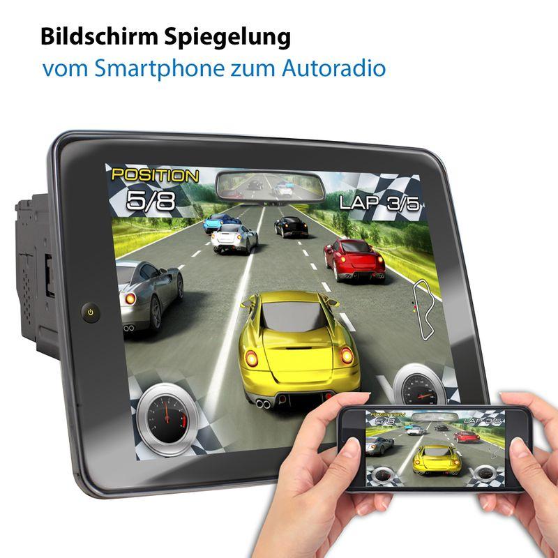 XOMAX XM-2VA1091: 2DIN Autoradio mit Android 8.1 Navi 10,9 Zoll IPS XXL IPS Touchscreen Monitor, Bluetooth, SD und USB   – Bild 6