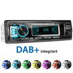 XOMAX XM-RD275: 1DIN, Autoradio mit DAB+, Bluetooth, USB, AUX IN, ohne Laufwerk 001