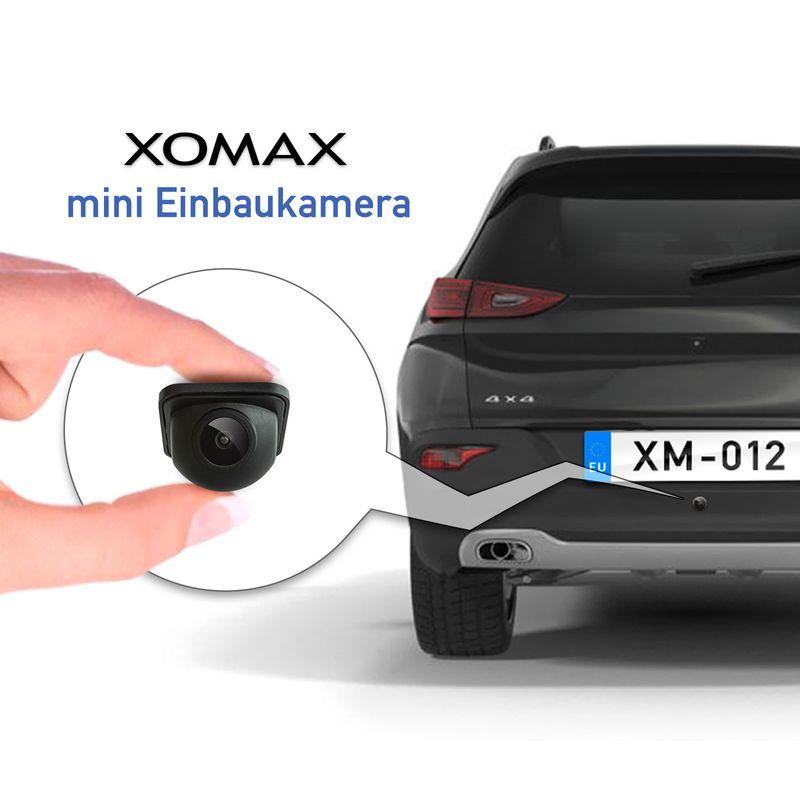 XOMAX XM-012 Micro FARB-Rückfahrkamera - Weitwinkel 170° XM-012 – Bild 8