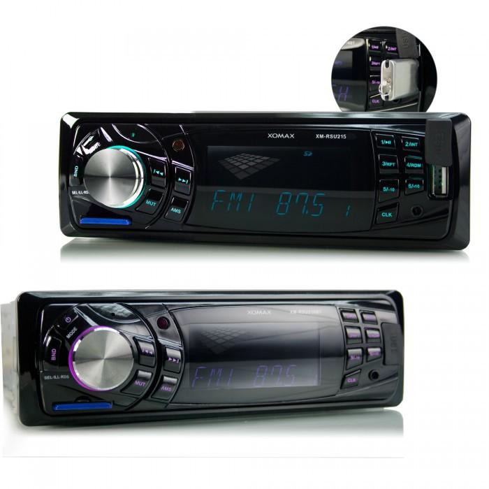XOMAX XM-RSU215 FlashXO USB SD Autoradio ohne Laufwerk (B-Ware) – Bild 4