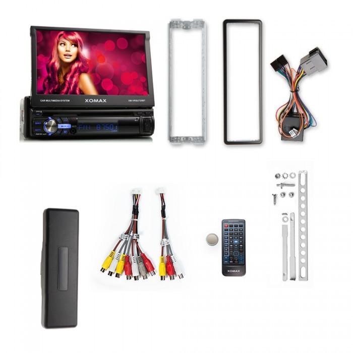 XOMAX XM-VRSU720BT Autoradio ohne Laufwerk mit Touchscreen und Bluetooth (B-Ware) – Bild 7
