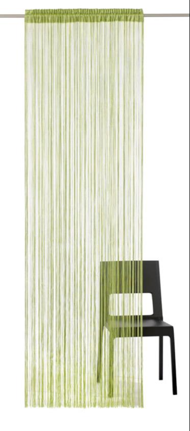 Heine Home Fadenstore Vorhang Raumteiler Insektenschutz Grün Hb Ca