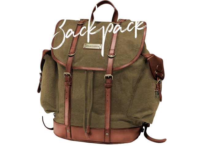 DRAKENSBERG Ikone Bestseller Backpack Rucksack Wanderrucksack