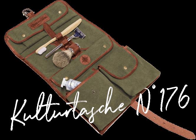 DRAKENSBERG Ikone Bestseller rollbarer Kulturbeutel N° 176 Wash Bag Kulturtasche Necessaire